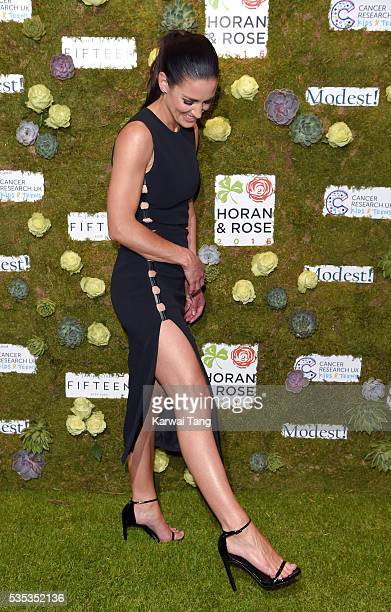 Kirsty Gallacher arrives for The Horan And Rose event at The Grove on May 29 2016 in Watford England