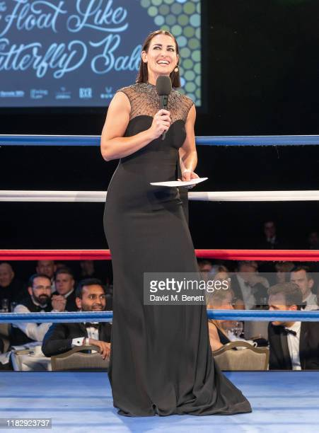 Kirsty Gallacher attend the Float Like A Butterfly Ball in aid of Caudwell Children at The Grosvenor House Hotel on November 16 2019 in London England