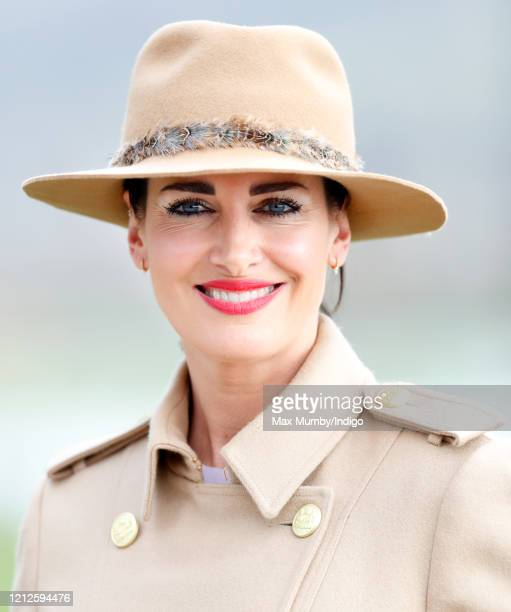 Kirsty Gallacher attends day 4 'Gold Cup Day' of the Cheltenham Festival 2020 at Cheltenham Racecourse on March 13 2020 in Cheltenham England