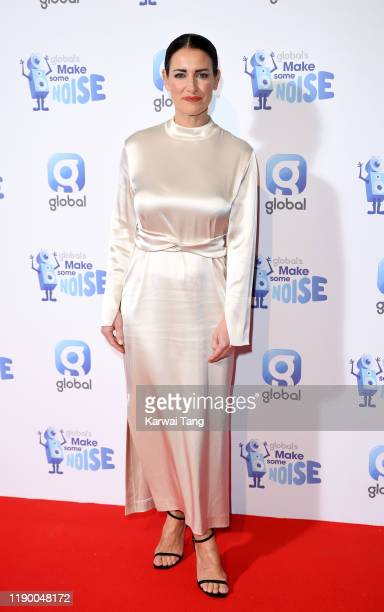 Kirsty Gallacher attends Global's Make Some Noise Night 2019 at Finsbury Square Marquee on November 25 2019 in London England