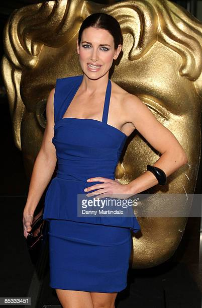 Kirsty Gallacher attends the BAFTA Video Games Awards at London Hilton on March 10 2009 in London England