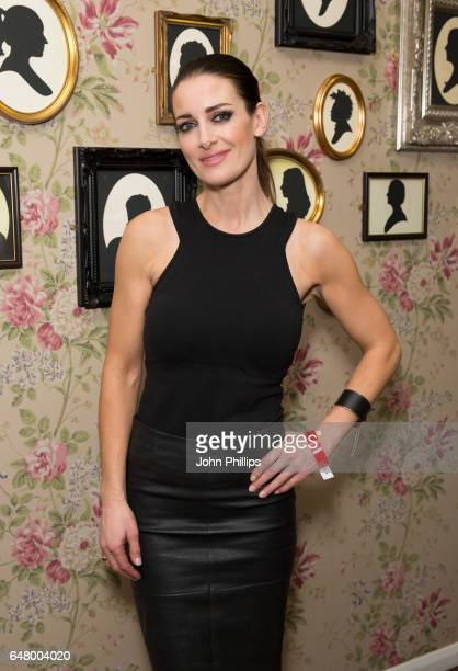 Kirsty Gallacher attends The David Haye Vs Tony Bellew Fight at The O2 Arena on March 4 2017 in London England