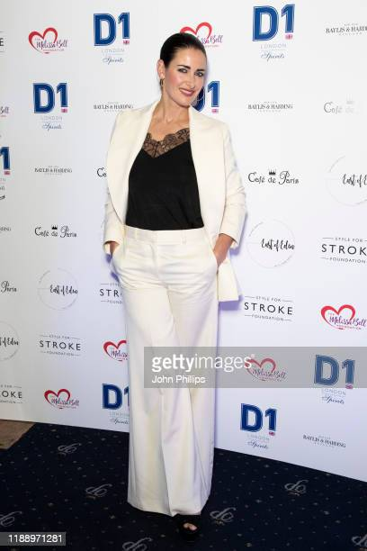 Kirsty Gallacher attends the Fall Ball 2019 at Cafe de Paris on November 20 2019 in London England