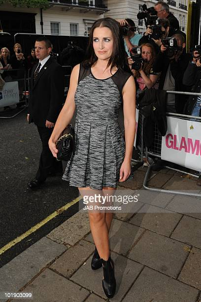Kirsty Gallacher attends the Glamour Women of the Year awards at Berkeley Square Gardens on June 8 2010 in London England