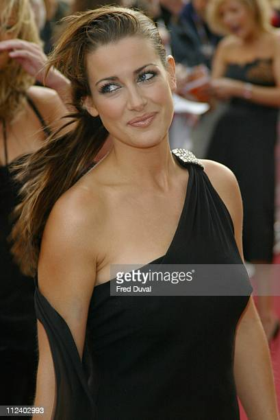 Kirsty Gallacher during 2004 Celebrity Awards at London Television Centre in London England Great Britain