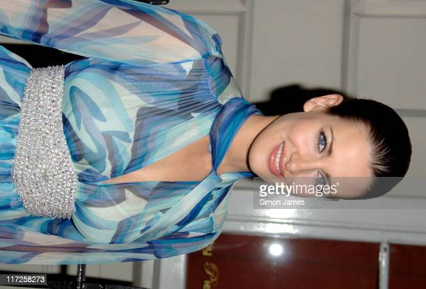 Kirsty Gallacher during The Laurent Perrier Pink Party – Arrivals at Sketch in London Great Britain