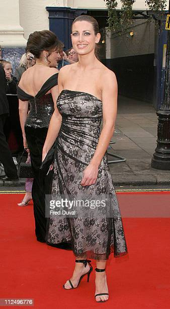 Kirsty Gallacher during The Pioneer British Academy Television Awards Outside Arrivals at Royal Theatre in London Great Britain