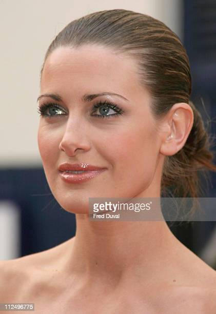 Kirsty Gallacher Holmes during The Pioneer British Academy Television Awards Outside Arrivals at Royal Theatre in London Great Britain