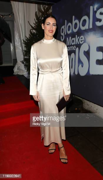 Kirsty Gallacher seen attending Global's Make Some Noise Night Gala at Finsbury Square on November 25 2019 in London England