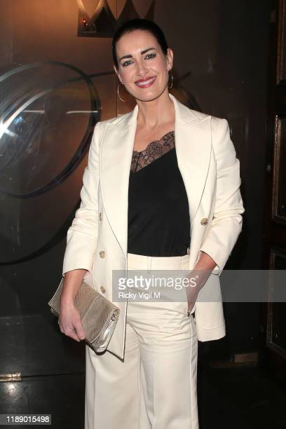 Kirsty Gallacher seen attending Style for Stroke Foundation The Fall Ball at Café de Paris on November 20 2019 in London England