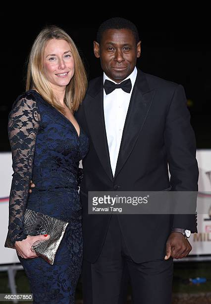 Kirsty Handy and David Harewood attend A Night Of Heroes The Sun Military Awards at National Maritime Museum on December 10 2014 in London England