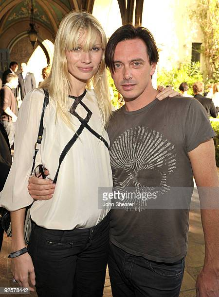 LOS ANGELES CA OCTOBER 30 Kirsty Hume and Donovan Leitch attend the CFDA/Vogue Fashion Fund Event at Chateau Marmont on October 30 2009 in West...