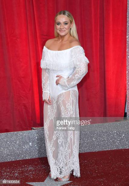 Kirsty LeighPorter attends the British Soap Awards at The Lowry Theatre on June 3 2017 in Manchester England