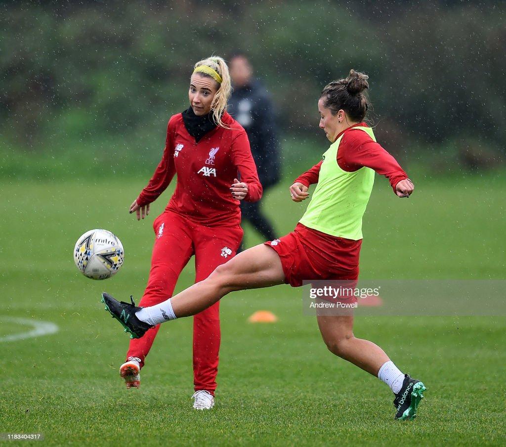 Liverpool Women Training Session : News Photo