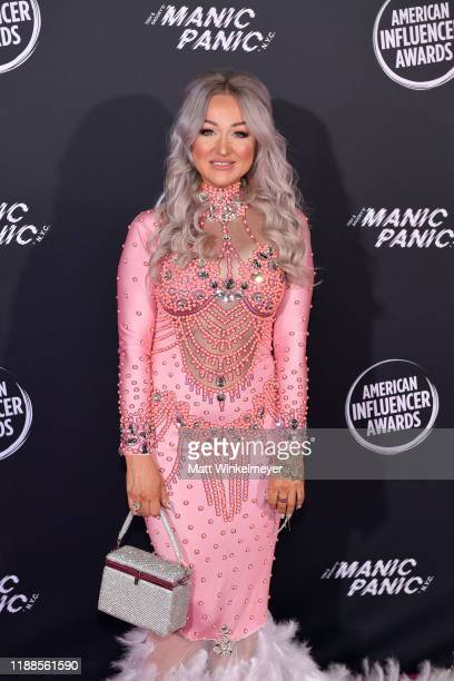 Kirsty Meakins attends the 2nd Annual American Influencer Awards at Dolby Theatre on November 18, 2019 in Hollywood, California.
