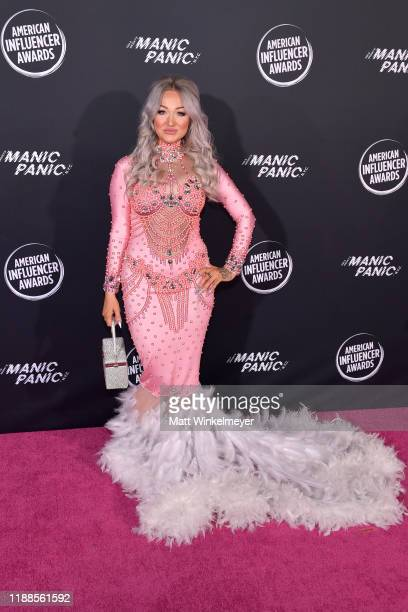 Kirsty Meakins attends the 2nd Annual American Influencer Awards at Dolby Theatre on November 18 2019 in Hollywood California