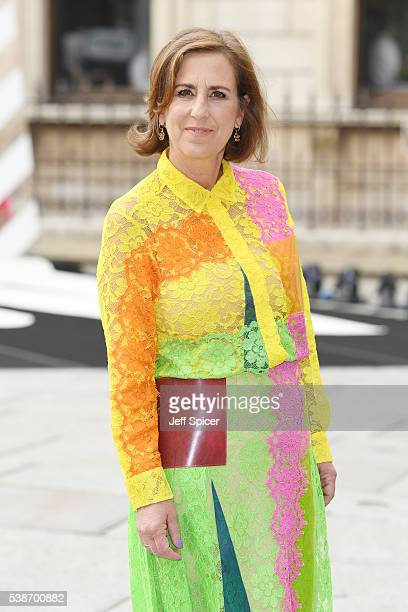 Kirsty Wark arrives for the VIP preview of the Royal Academy of Arts Summer Exhibition 2016 at Royal Academy of Arts on June 7, 2016 in London,...