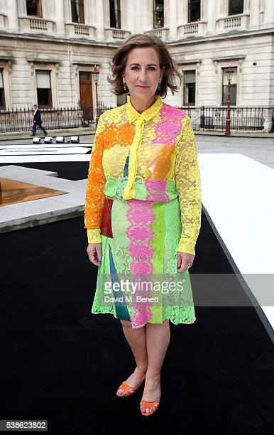Kirsty Wark attends a VIP preview of the Royal Academy of Arts Summer Exhibition 2016 on June 7, 2016 in London, England.