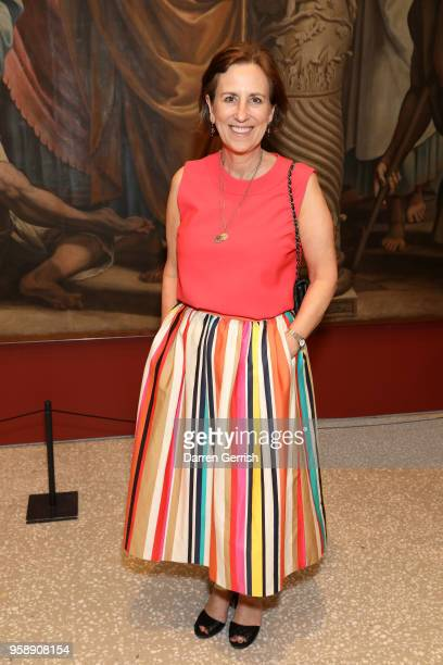 Kirsty Wark attends the new Royal Academy of Arts opening party at Royal Academy of Arts on May 15, 2018 in London, England.