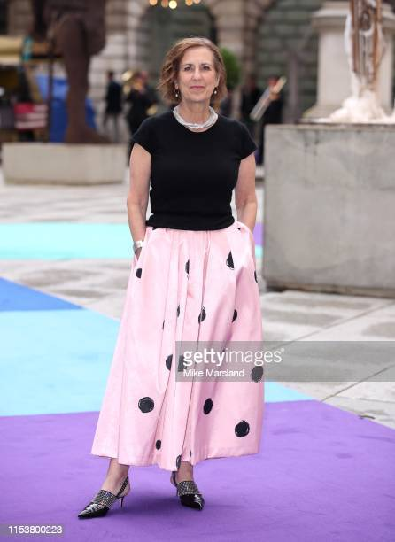 Kirsty Wark attends the Royal Academy of Arts Summer exhibition preview at Royal Academy of Arts on June 04, 2019 in London, England.
