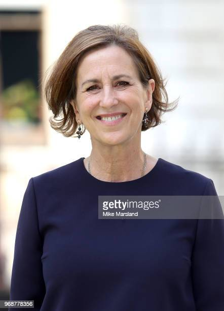 Kirsty Wark attends the Royal Academy of Arts Summer Exhibition Preview Party at Burlington House on June 6, 2018 in London, England.