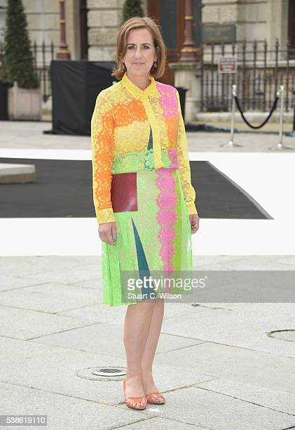 Kirsty Wark attends the VIP preview of the Royal Academy of Arts Summer Exhibition 2016 at Royal Academy of Arts on June 7, 2016 in London, England.