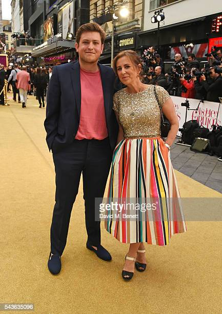 """Kirsty Wark attends the World Premiere of """"Absolutely Fabulous: The Movie"""" at Odeon Leicester Square on June 29, 2016 in London, England."""