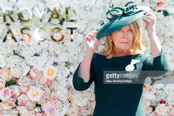 Kirsty Young attends day 3 'Ladies Day' of Royal Ascot at Ascot Racecourse on June 21 2018 in Ascot England