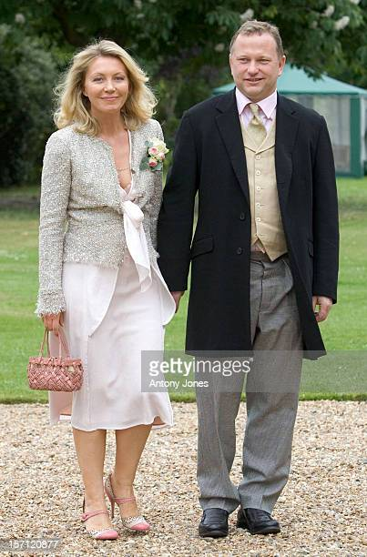 Kirsty Young Attends The Wedding Of Tom Aikens Amber Nuttall At The Royal Hospital Chelsea In London