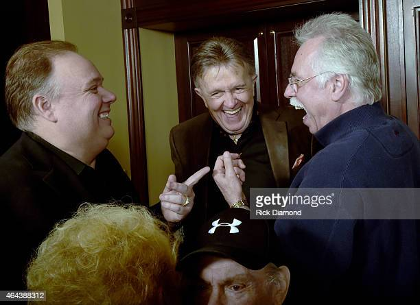Kirt Webster Recording Artists Bill Anderson and Joe Bonsall attend Webster Public Relations Unofficial KickOff CRS Event Legendary Lunch at The Palm...