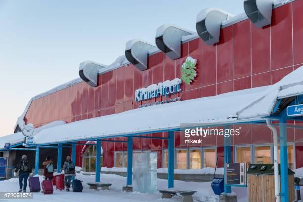 Kiruna airport terminal building Sweden