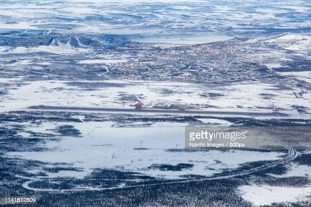kiruna - sweden - norrbotten province stock photos and pictures