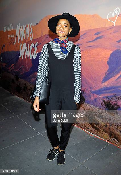 Kish Kilo attends Making Space by Petra Collins presented by BB Dakota at MAMA Gallery on May 14 2015 in Los Angeles California
