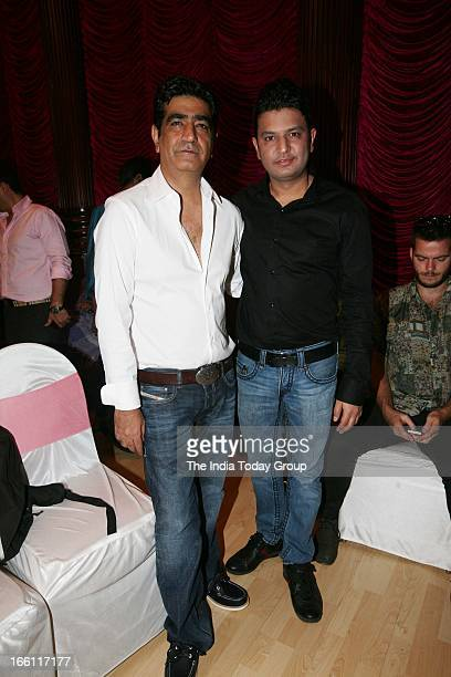 Kishan Kumar and Bhushan Kumar at the music launch of the film Aashiqui 2 in Mumbai on 8th April 2013