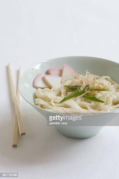 Kishimen noodles