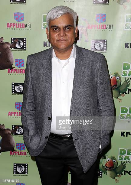 Kishor Patil attends 'Delhi Safari' Los Angeles premiere at Pacific Theatre at The Grove on December 3 2012 in Los Angeles California