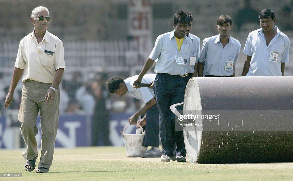 Third Test - India v Australia: Day 4 : News Photo