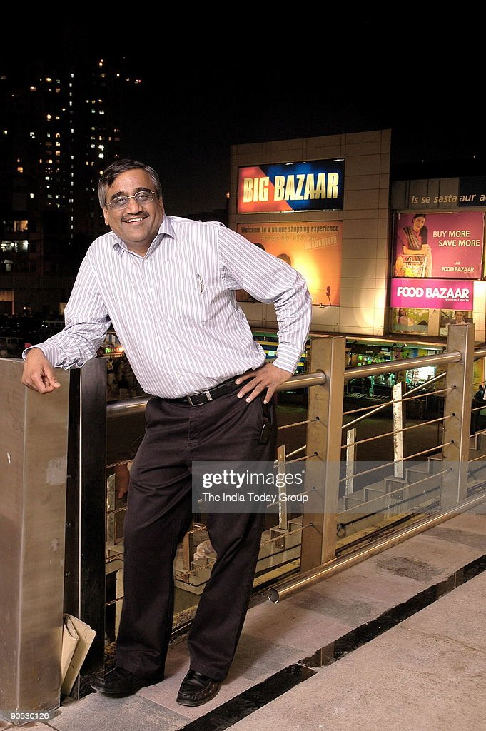 Kishore Biyani Md Pantaloon Retail Ltd In Mumbai India News Photo Getty Images