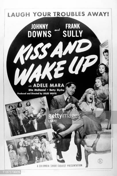 Johnny Downs Kneeling Frank Sully Adele Mara 1942