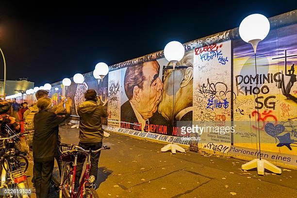 Kuss zwischen Breschnew und Honecker