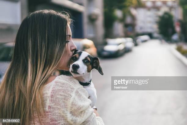 Beso para mi mascota