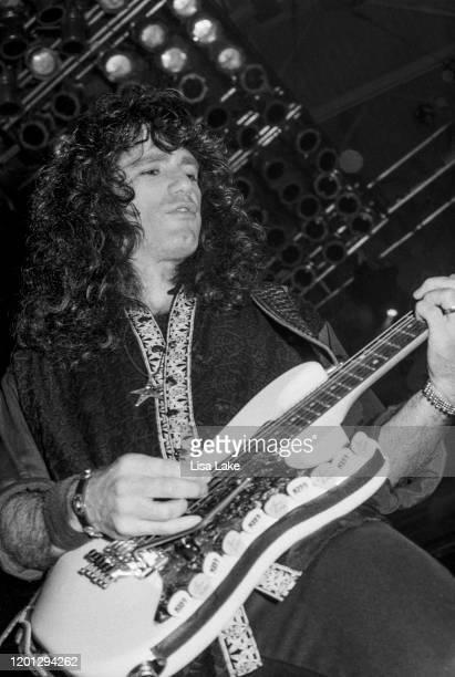 Kiss guitarist Bruce Kulick performs at Stabler Arena on October 1 in Bethlehem Pennsylvania