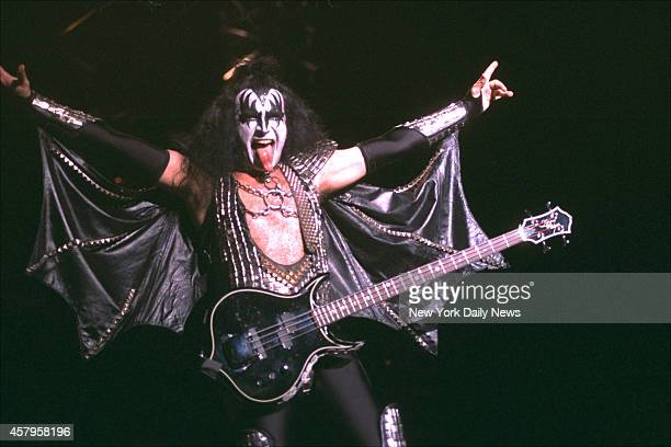 Kiss live at Madison Square Garden Gene Simmons