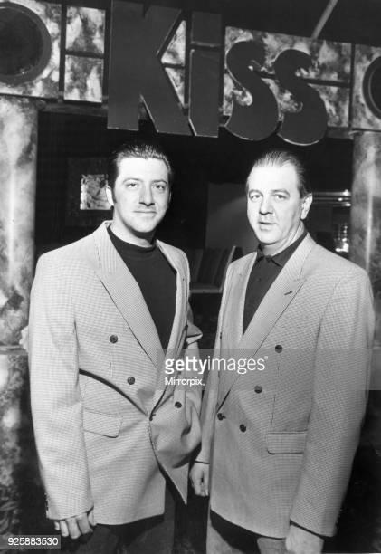 Kiss Nightclub managers Graeme Davies and John Davies 16th November 1992.