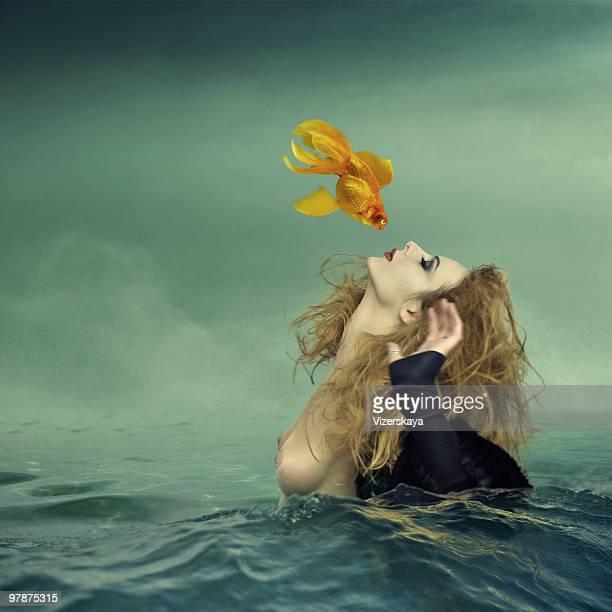 Kuss, Goldfisch
