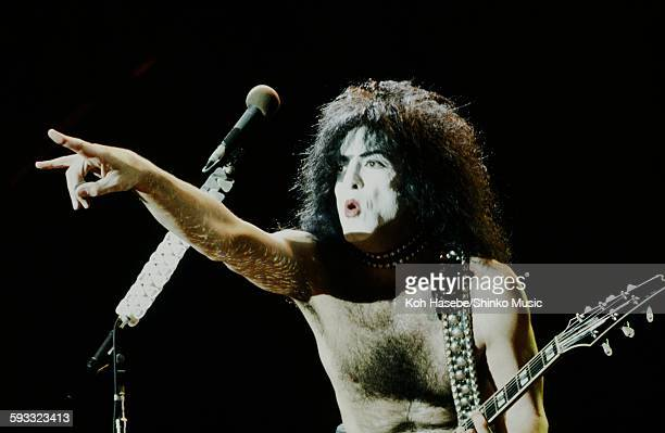 Kiss Paul Stanley on Destroyer Tour CA July 1976