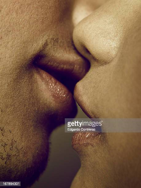 kiss - kissing on the mouth stock photos and pictures