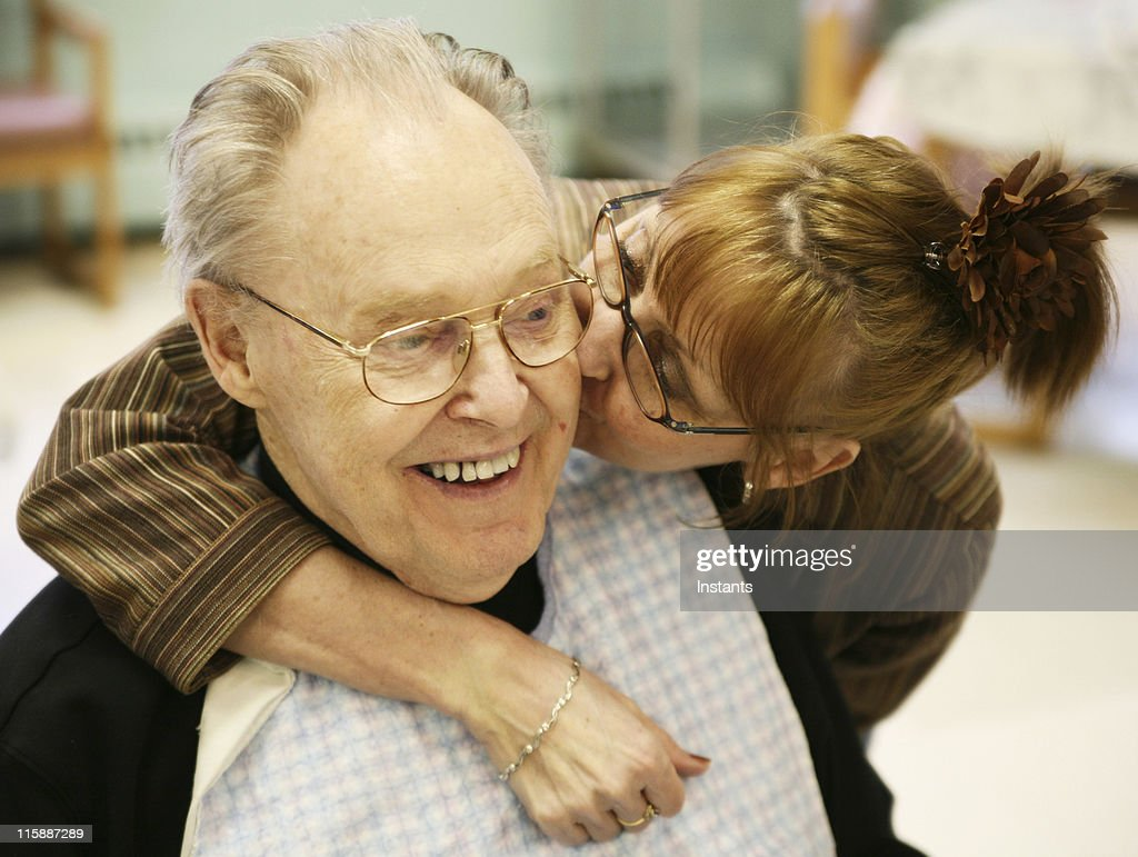 Kissed Father : Stock Photo