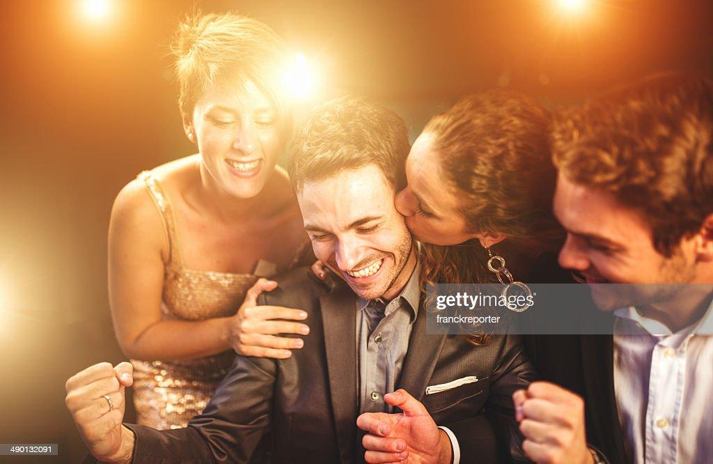 Baisers de la chance au poker : Photo