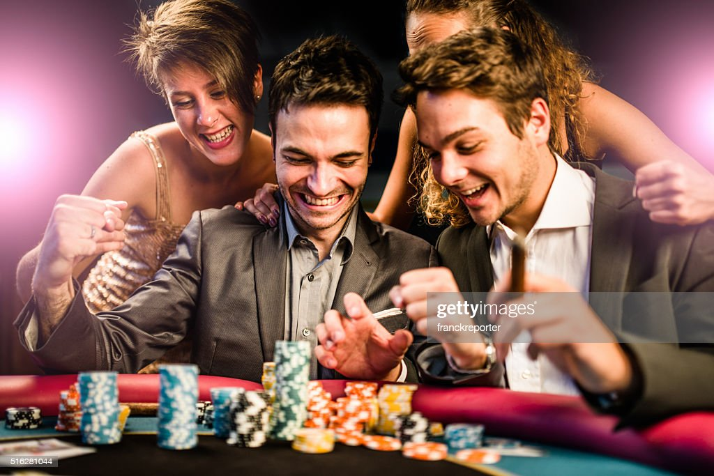 Baisers de la chance au poker : Photo